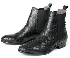 "Hudson Roux boot black snake • <a style=""font-size:0.8em;"" href=""http://www.flickr.com/photos/65413117@N03/30152962450/"" target=""_blank"">View on Flickr</a>"