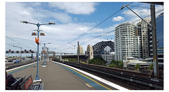 (Stu.Brown) Tags: sydney milsons point station harbourbridge