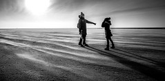 Winterdesert (juhwie.foto - PROJECT: LEIDENSCHAFT-LICH-T) Tags: blackwhite landscape shadow beach beautifulgermany spo blackandwhite bw pentax