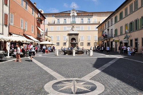 Piazza della Libertà - Castel Gandolfo (Roma - Italy)