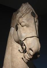 Scary Horse (Aidan McRae Thomson) Tags: horse statue sculpture ancient greek classical halicarnassus mausoleum britishmuseum london marble