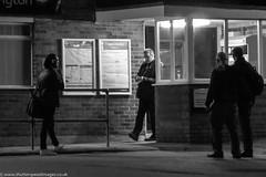 Late night station (Wayne Stiller) Tags: cheddington office railways tickets trainstation