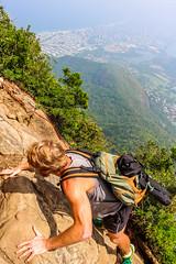 IMG_4972 (sergeysemendyaev) Tags: 2016 rio riodejaneiro brazil pedradagavea    hiking adventure best    travel nature   landscape scenery rock mountain    high forest  climbing risk dangerous