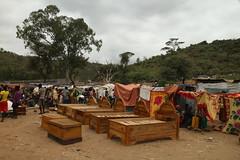 Mercado de Gato. Etiopa (Txaro Franco) Tags: africa etiopa ethiopia market gato mercado mueble cama bed muebles camas beds madera wood