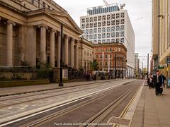 PA174439 Urban street scenes (Paul S. Jenkins) Tags: manchester architecture cityscape tramlines urban england unitedkingdom gb