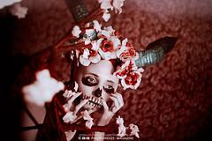 Valesca | HORNS II (CAA Photoshoot Magazine) Tags: portrait portraiture  ronaldoichi  portraits retrato woman female girl femaleportrait retratofeminino mulher human feminine portraitfeminine feminineportrait  photography conceptual horns horned gothic fable legend fairytail conceptualphotography conceptualphotographer