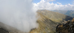 Invading Cloud (Richard Leese) Tags: romania fagaras transylvania transfagarasan mountains lake scenery hiking