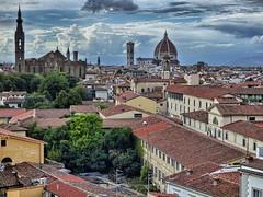 Florencia.... desde la Torre de la Zecca (Luna y Valencia) Tags: firenze torredellazecca florence florencia rinascimento hdr