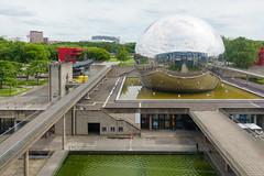day eleven: la villette (dolanh) Tags: france lavillette sciencemuseum cityofscienceandindustry paris citdessciencesetdelindustrie geode