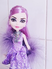 Duchess Swan 💜 (Christo3furr) Tags: ever after high duchess swan princess fashion doll monster