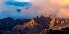 Mountains and Clouds (Fotodave42) Tags: tenerife spain sunset clouds mountains
