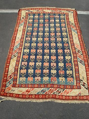 "19TH CENTURY CAUCASIAN SEICHUR RUG • <a style=""font-size:0.8em;"" href=""http://www.flickr.com/photos/51721355@N02/30704893796/"" target=""_blank"">View on Flickr</a>"