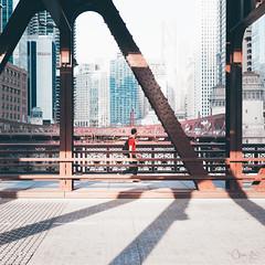 5 Days in Chicago (spaceabstract) Tags: a7ii adventure architecture bridge chicago city cityscape explore portrait river sony square summer travel urban vsco