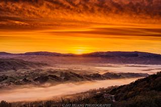 Rolling Hills Sunrise