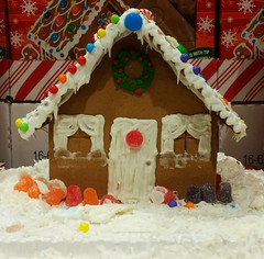 Gingerbread House (Mike Licht, NotionsCapital.com) Tags: gingerbreadhouse gingerbread christmas xmas retail food ornaments holidaydisplays gumdrops