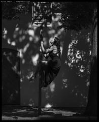 H51-B0017458 copy (mingthein) Tags: thein onn ming photohorologer mingtheincom availablelight gravitation is relative project pole dance czech republic street prague anastacia akentyeva hasselblad h5d50c medium format 645 h5d hc 32150 n 150f32n bts behind scenes bw blackandwhite monochrome