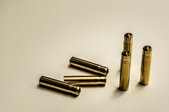 Golden Bullets (timh255) Tags: 1855mm 52weeks bullets d5200 elements flash gold lightroom nikon offcamera photoshop sb700 timhutchinson tripod