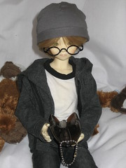 A Package in the Mail 004 (EmpathicMonkey) Tags: bjd bluefairy olive toby happy monkey photo story ball jointed dolls toys