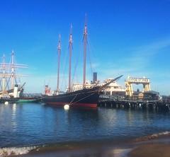 C. A. Thayer (tompa2) Tags: sanfrancisco hav vatten fartyg segelfartyg hjulångare mast