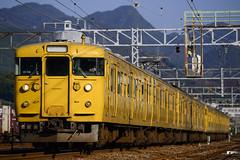 old hand (nEUROn FL) Tags: railway train hiroshima jr jnr japanrails jr   115 emu