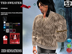 Ted fitmesh sweater (Zed Sensations) Tags: woollen sweater fitmesh fitted mesh adamesh adammesh jersey camisola winter slink physique male autumn warm casual urban mens fashion clothing shirt top zed sensations adam