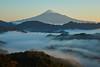 Mt.Fuji morning scene (peaceful-jp-scenery (busy)) Tags: mtfuji shimizu seaofclouds mist fog landscape mountain worldheritage 富士山 雲海 霧 風景 山の吉原 高山 清水区 日本 世界遺産 sony α99 a99 slta99v amount sal24f20z distagont24mmf2zassm carlzeiss