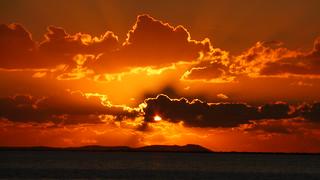 Ηλιοβασιλεμα Μενιδι Αμφιλοχιας P1280047