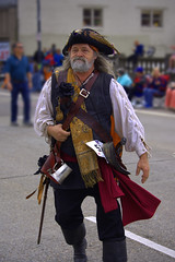 Pirate (swong95765) Tags: pirate costume parade man arrg outfit ensemble attire garb getup apparel clothing gear uniform beard