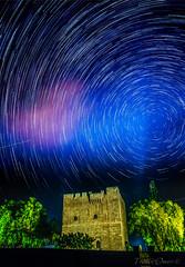 Kollossi Castle Star Trails (truenotrev) Tags: cyprus startrails kolossi castle night sky