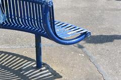 blue bench (Hayashina) Tags: blue bench shadow hbm brighton