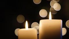 2. Advent (florianselchow) Tags: 17 50mm rokkor minolta lights christmas sony alpha6000 bokeh