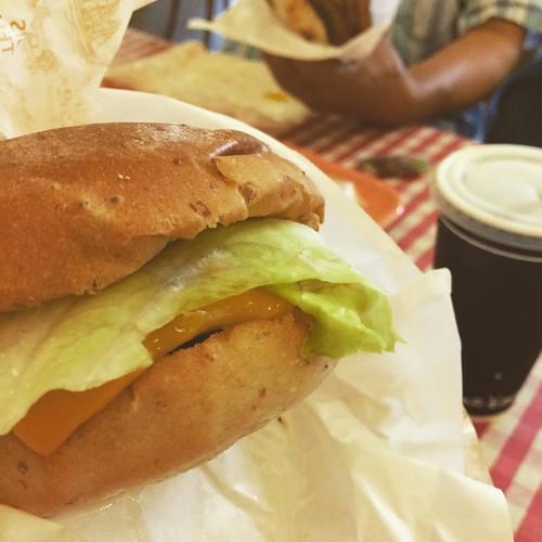 食べたよ #佐世保バーガー #ハウステンボス
