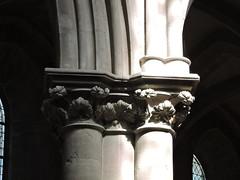 DSCN0938 (keepps) Tags: summer france church architecture capital medieval curve bourgogne cluny colum romane saneetloire notredamedecluny