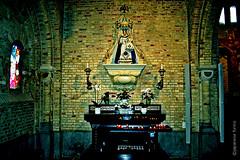 virgin and child (japanese forms) Tags: church candles maria religion streetphotography chapel icon ikon kerk kerzen kirk avemaria kapelle kaarsen vlaanderen kapel hailmary freedomfromreligion straatfotografie strasenfotografie weesgegroetmaria japaneseforms2015