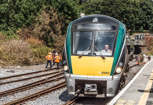 THE MINISTER PLUS PLATFORM 10 AND THE PHOENIX PARK RAILWAY TUNNEL [NOT FORGETTING IRISH RAIL STAFF] REF-107152