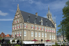 Stadhuis Gouda in Huis ten Bosch Japan