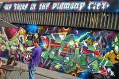 Graffiti Antwerp Meeting of Styles 2015 (rogerpb) Tags: street city urban streetart art tourism graffiti mural europe belgium outdoor kunst sightseeing belgi tags panasonic urbanart spraypaint tagging belgica antwerpen aerosolart seaport berchem amberes steden anvers spraycanart flanders muurschildering vlaanderen straatkunst meetingofstyles zeehaven walldecorations dmctz8 zuerenborg meetingofstyles2015 rogerbrosius meetingofstiles2015antwerp