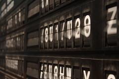 Change Station (Denise Biscaro) Tags: venice blackandwhite leave station train canon moving time go numbers cambio change destination movimento lettering biennale venezia stazione tempo biancoenero lettere numeri treni tabellone arrivi partenze destinazione denisebiscaro