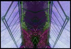 Canalside abstract...bridge shadows (tina negus) Tags: bridge canal shadows digitalart lincolnshire wharf hue denton combined