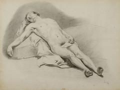 Juan Luna: Nude Study (Leo Cloma) Tags: art furniture antique auction philippines auctions filipino antiques salcedo cloma