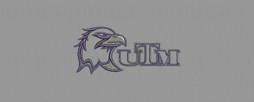 UTM Bird - embroidery digitizing by Indian Digitizer - IndianDigitizer.com