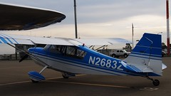 Bellanca 7ECA (N2683Z) 1978 2 (Jack Snell - Thanks for over 21 Million Views) Tags: tree breakfast airport vacaville flight legends 1978 pancake nut bellanca nuttree 7eca can2683z