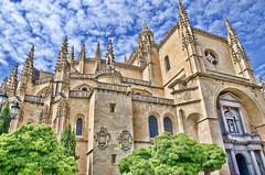 Catedral de Segovia.- (ancama_99(toni)) Tags: espaa architecture spain arquitectura nikon cathedral catedral segovia 1000views 18105 10favs 10faves 35favs 25favs 35faves 25faves d7000