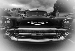 Relic (Steve Lindenman) Tags: chevrolet car vintage blackwhite relic 57chevy lindenman cpmg1115sa