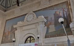 La Rochelle, la gare SNCF (thierry llansades) Tags: train tren gare mosaique sncf atlantique saintonge charentesmaritime charentes charentemaritime aunis
