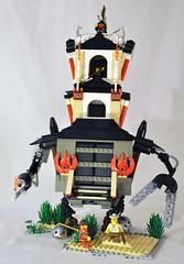 FireTemple0 (spencerwinson) Tags: lego ninja cast mecha mech