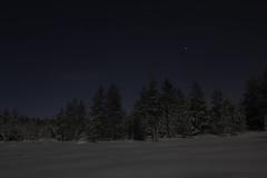 Laponie (Maxime's pictures) Tags: winter snow night finland hiver lapland kuusamo neige nuit ruka finlande laponie rukasalonki