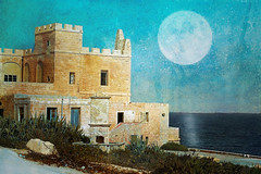 Fairy tale from Malta (Cristina Tiurean Photography) Tags: old sea seascape castle history texture wall canon landscape malta brickwall