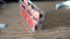 PolargraphSD case 5 (Euphy) Tags: art make robot acrylic cut documentary case stages sd laser instructions kit slot maker tab mdf stepbystep vitamin arduino lasercut 3mm drawbot vitkit polargraph polargraphsd