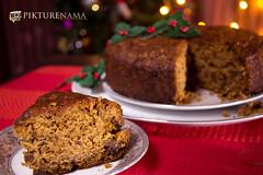 Eggless_rich_fruit_cake-5 logo (anindya0909) Tags: christmas cake eggless richfruitcake